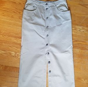 Button Down Skirt - Vintage